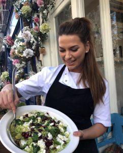 Susie Mandleberg, head chef at Thyme Kitchen in Lichfield.