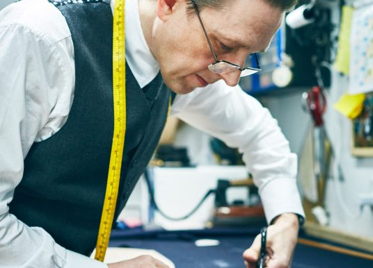 Suits you, sir – meet one of the last craftsman tailors in the Midlands
