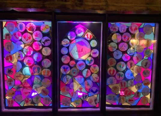 Lichfield Window Wanderland display celebrates local lockdown babies