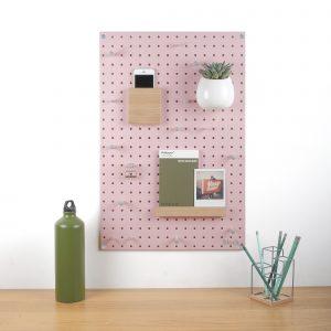 Medium pegboard in pink, £40, www.blockdesign.co.uk