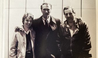 Craig Thomas and his wife Jill with Clint Eastwood. Photo courtesy of the Estate of Jill Thomas.