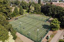 Beacon Park's tennis courts.
