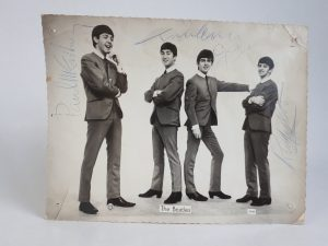 Monica Hayes vividly remembers her mum surprising her with the photograph, signed by all four Beatles during a break in filming at a Birmingham TV studio.