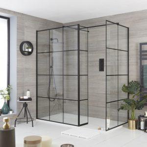 Milano Barq wet room shower enclosure, from £309.99, Big Bathroom Shop, www.bigbathroomshop.co.uk