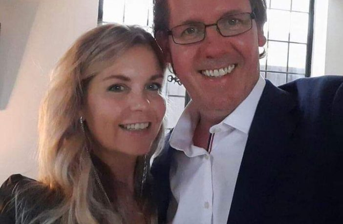 Catherine O'Reilly and Tim Churchill