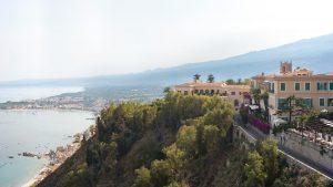 The new Four Seasons San Domenico Palace in Taormina, Sicily.