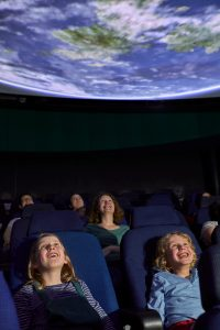 The planetarium at Thinktank.