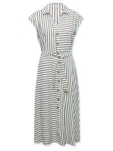 Linen midi dress, £45, Khost clothing at Mand Co.