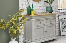 Brindle sideboard, £479.99, www.oakfurnitureland.com