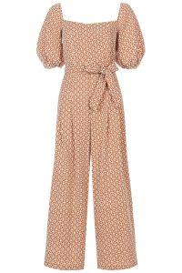 Embroidered jumpsuit, £192, Traffic People at Harvey Nichols.