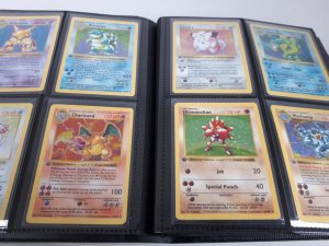 This complete first edition Pokémon Base Set is estimated to sell for somewhere in the region of £25,000.