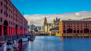 A UK cruise could take in vibrant cities like Liverpool.