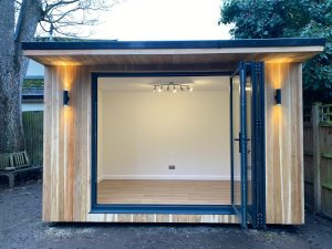 Scandi-designed podhouses, made locally in Lichfield, www.podhouse.co.uk