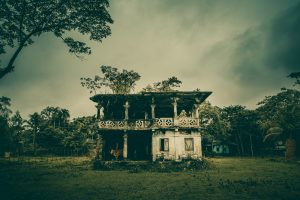 Ruins of Hason Rajas residence by Osman Rakib.