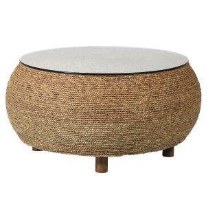 Seagrass coffee table, £300, Needwood Living of Alrewas and Tutbury, www.needwoodliving.co.uk