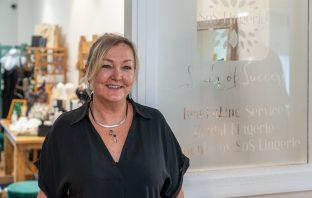 Justine Oldfield of SoS Lingerie.