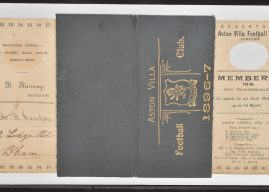 Aston Villa memorabilia up for auction